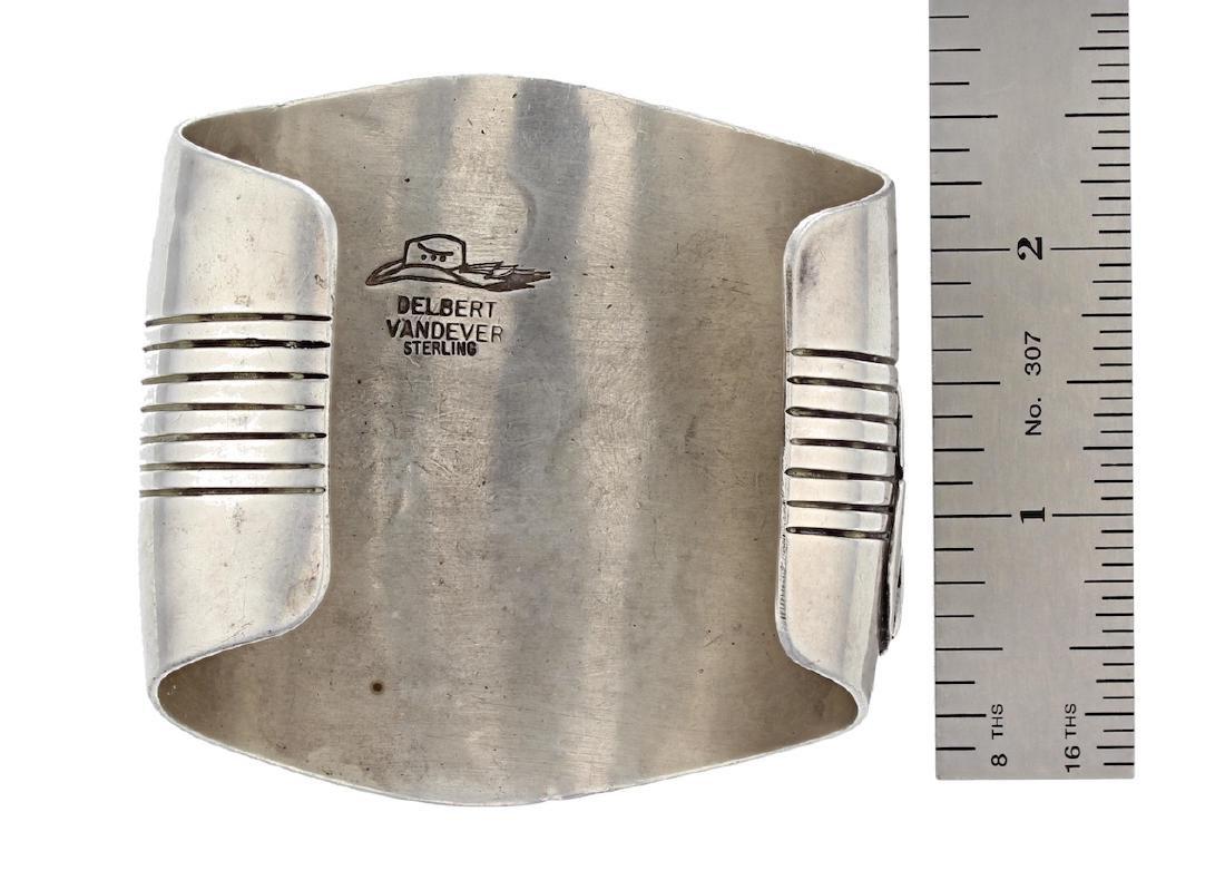 Sterling Silver Masterpiece Bracelet Navajo Native - 3