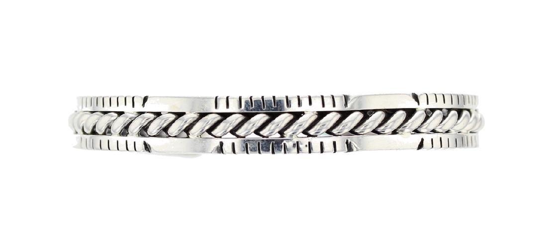 Sterling Silver Contemporary Bracelet Navajo Native