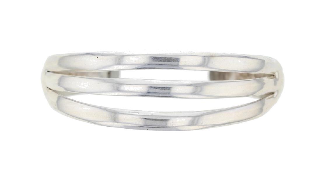 Sterling Silver Vintage Row Bracelet Navajo Native
