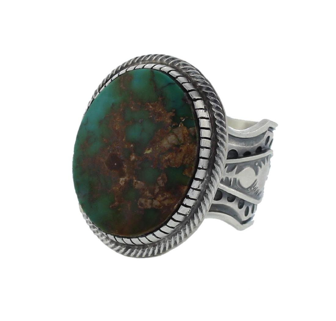 Sterling Silver Genuine Turquoise Masterpiece