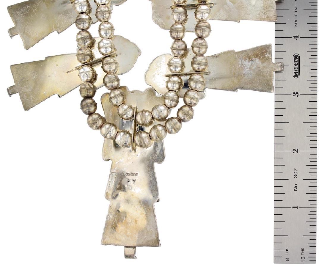 Sterling Silver Genuine Coral Vintage Masterpiece - 2