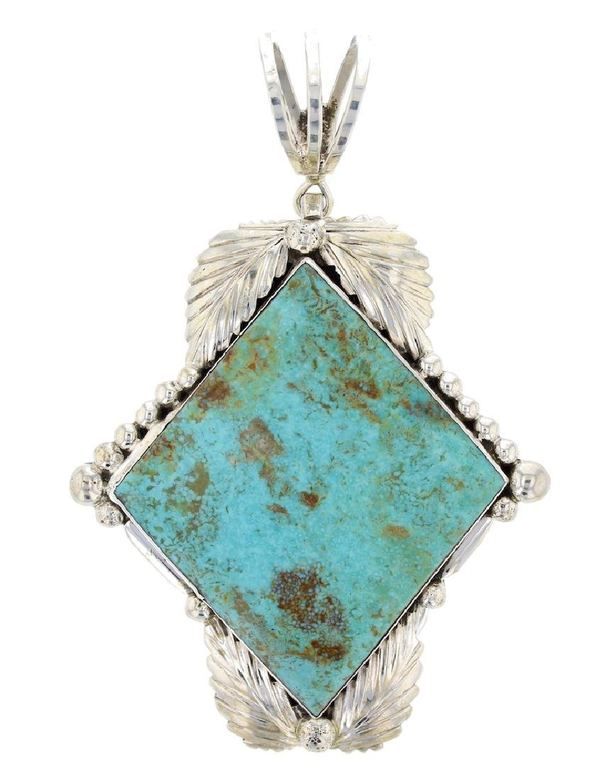 Sterling Silver  Turquoise Apache Native American