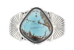 Sterling Silver  Turquoise Masterpiece Contemporary