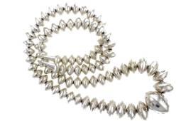 """Sterling Silver """" Navajo Pearls"""" Vintage Roundel"""