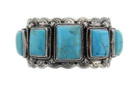Sterling Silver Turquoise Masterpiece Bracelet Navajo