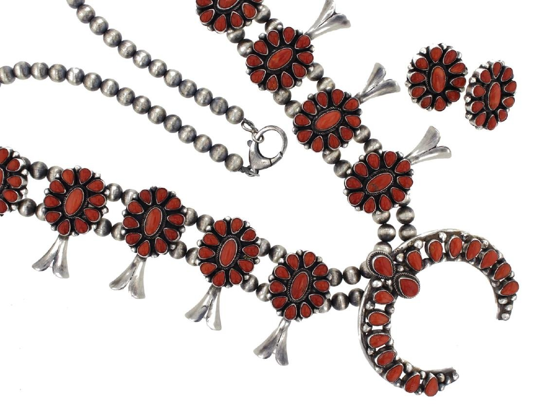 Sterling Silver Genuine Ox Blood Mediterranean Coral