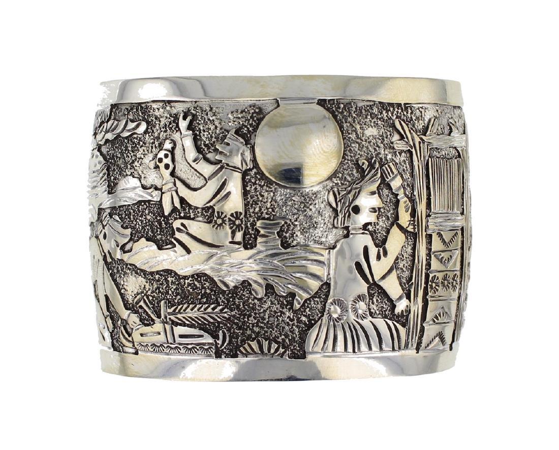 Sterling Silver Story Teller Masterpiece Bracelet
