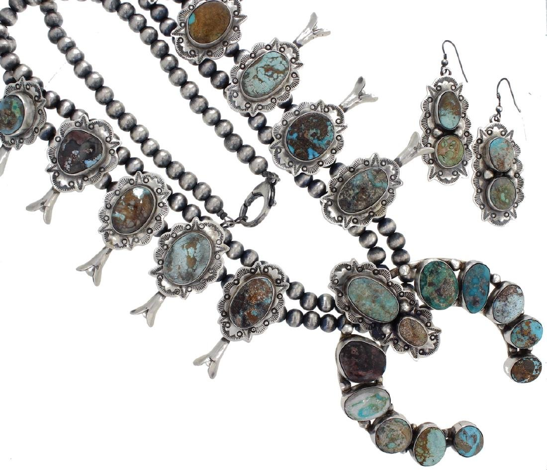 Sterling Silver Genuine Mixed Turquoise Masterpiece