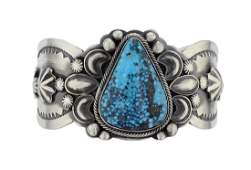 Sterling Silver Genuine Turquoise Contemporary