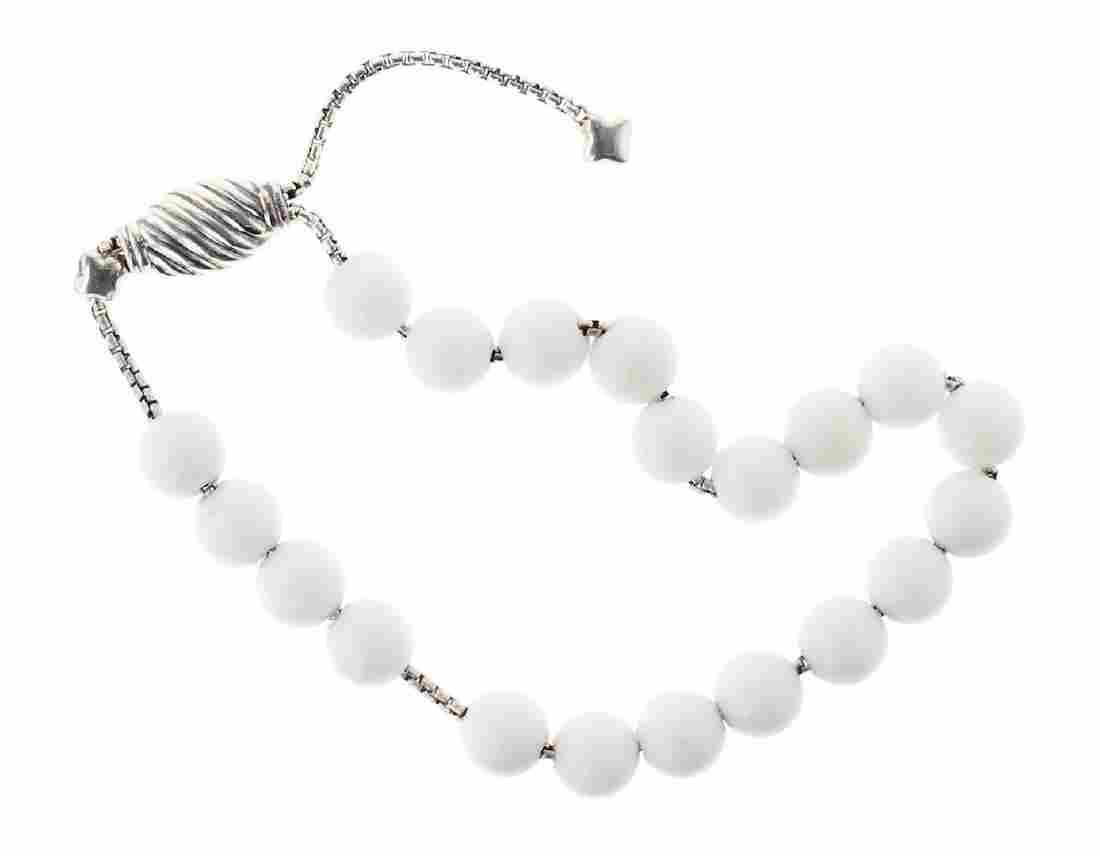 David Yurman Sterling Silver Ladies Spiritual Beads