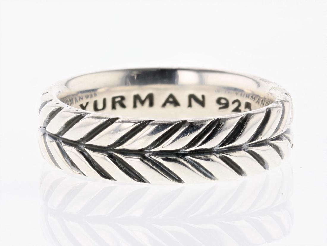David Yurman Sterling Silver Vintage Ring