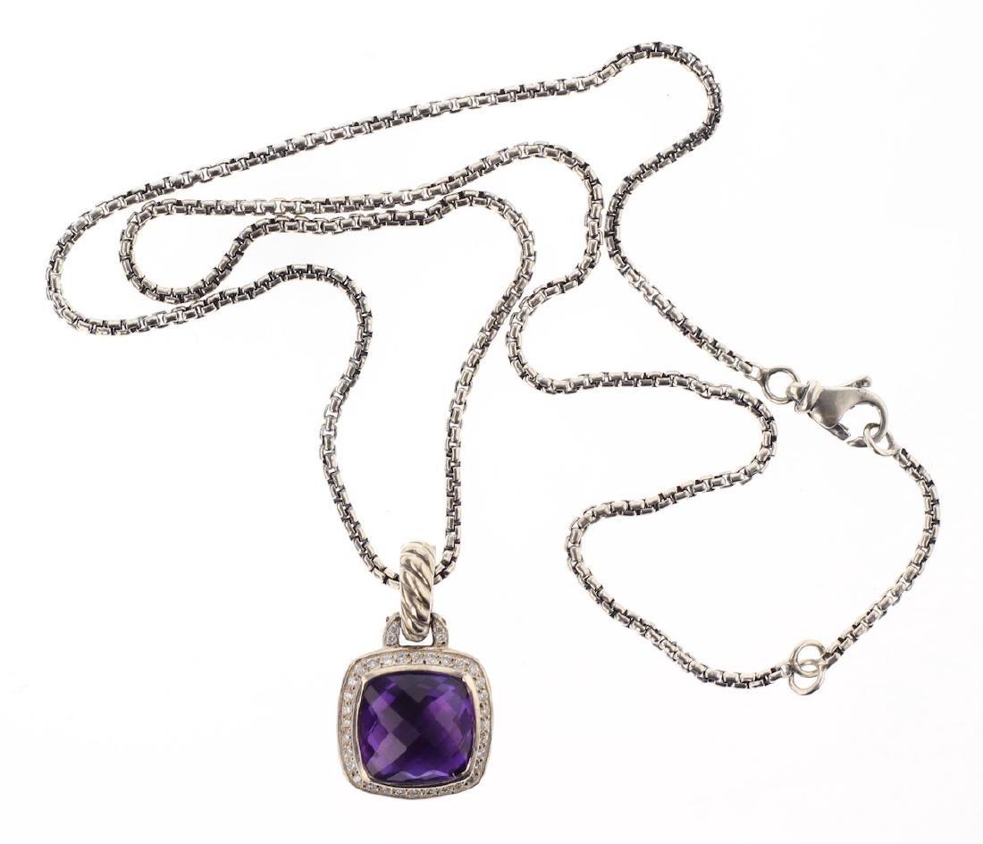 David Yurman Sterling Silver Vintage Necklace & Albion