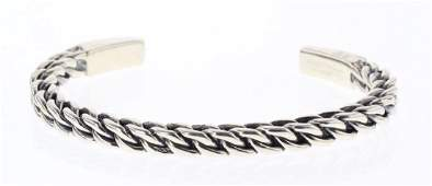 David Yurman Sterling Silver Vintage Men's Chain Cable