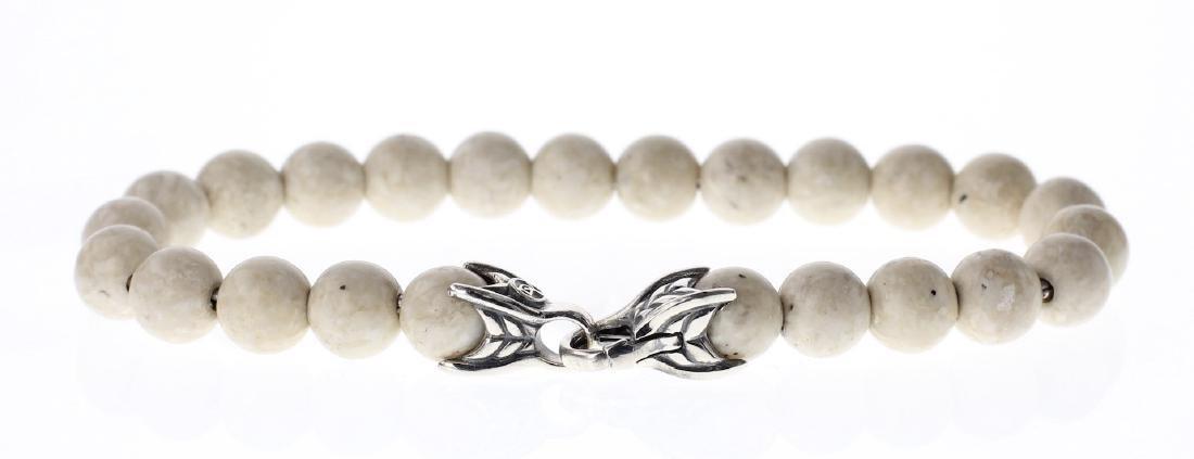 David Yurman Sterling Silver Spiritual Beads Bracelet - 2