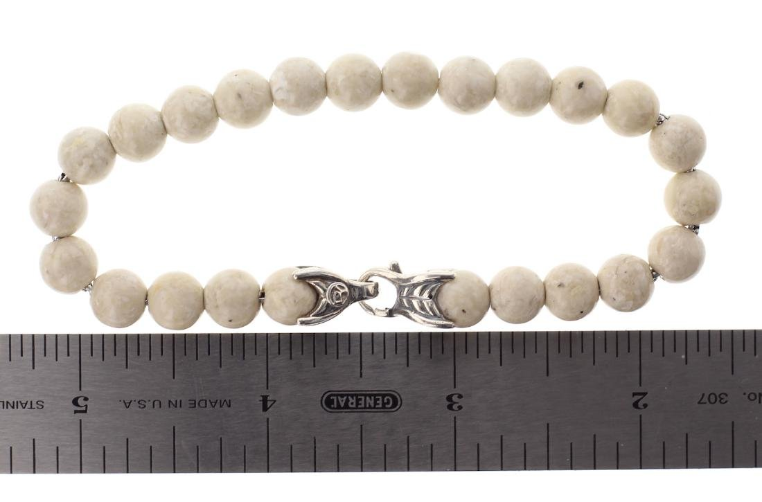 David Yurman Sterling Silver Spiritual Beads Bracelet - 3