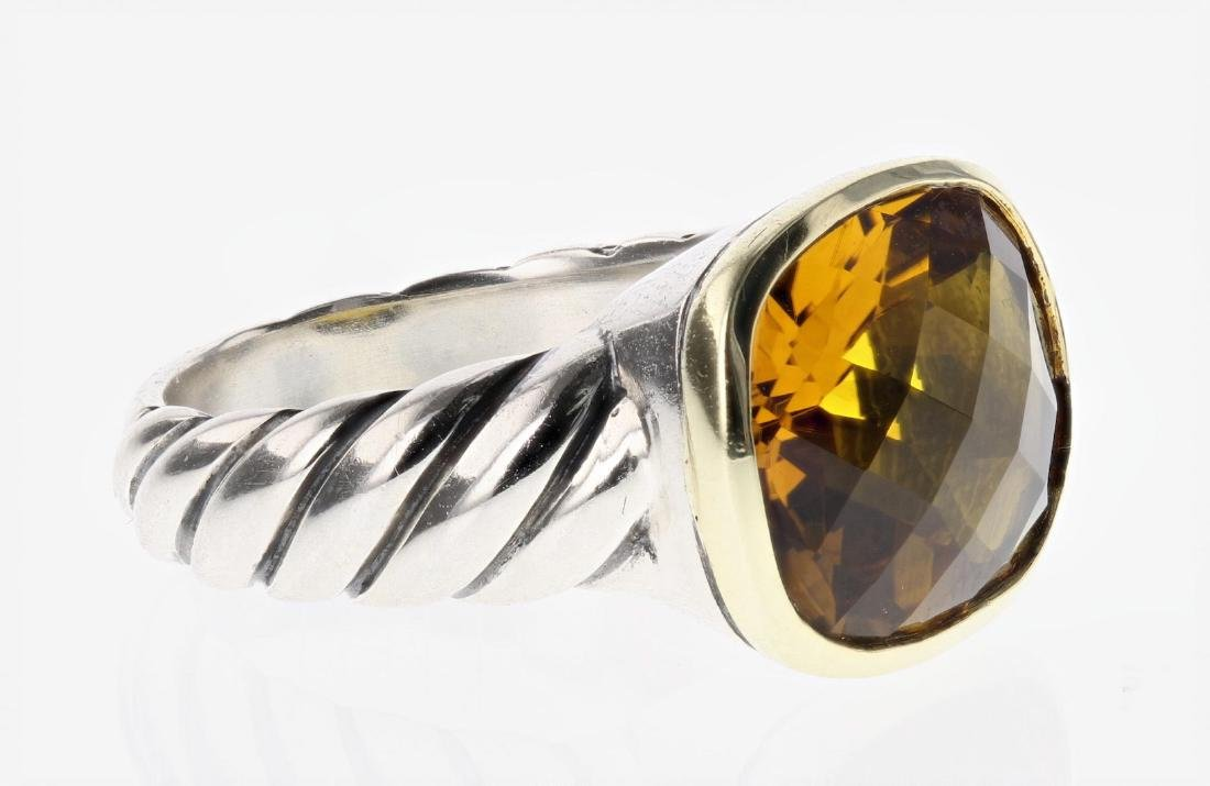 David Yurman Sterling Silver & 18K Gold Vintage