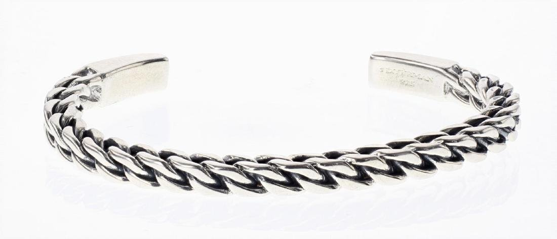 David Yurman Sterling Silver Men's Chain Bracelet