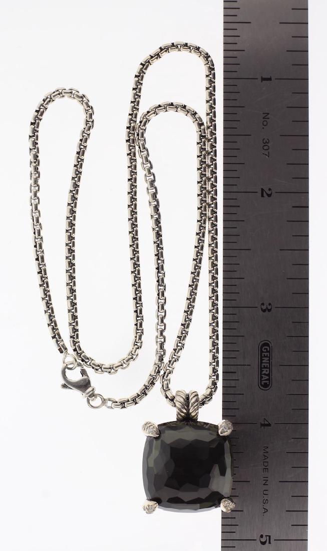 David Yurman Sterling Silver Black Orchid & Diamonds - 2