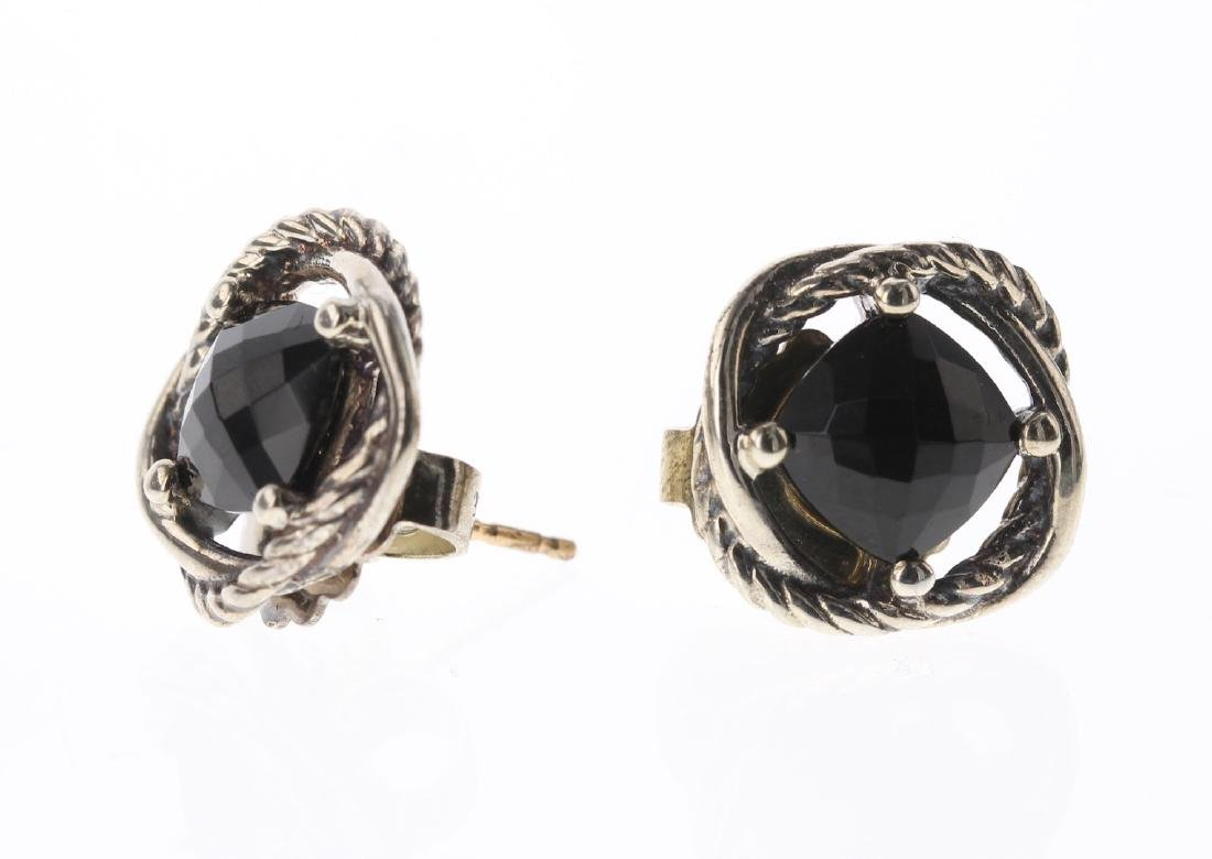 David Yurman Sterling Silver Vintage Black Onyx