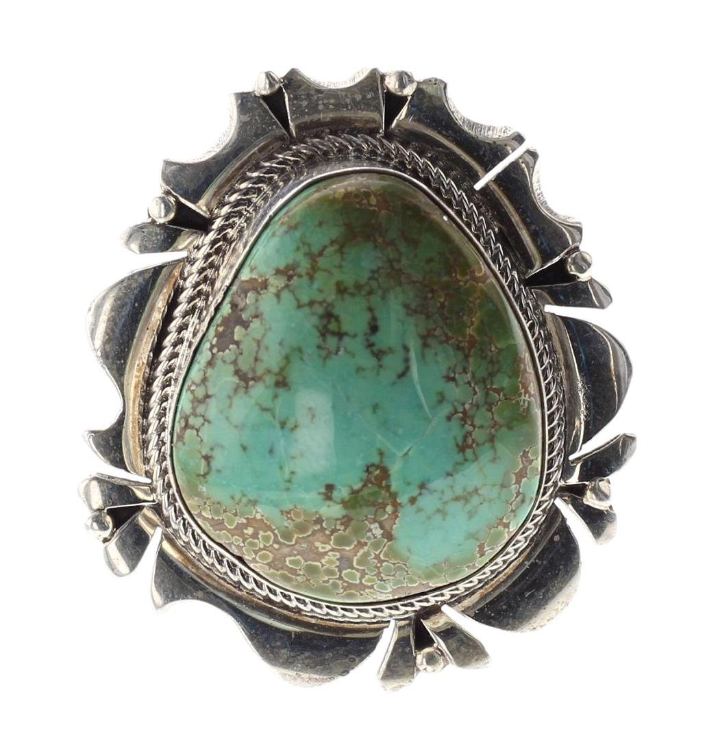 Sterling Silver Genuine Carico Lake Turquoise
