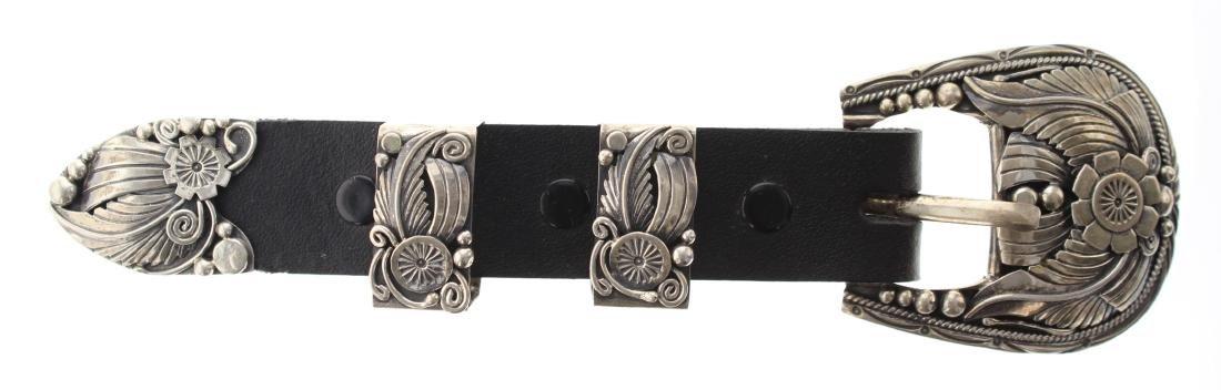 Sterling Silver Vintage Masterpiece Ranger Belt Navajo