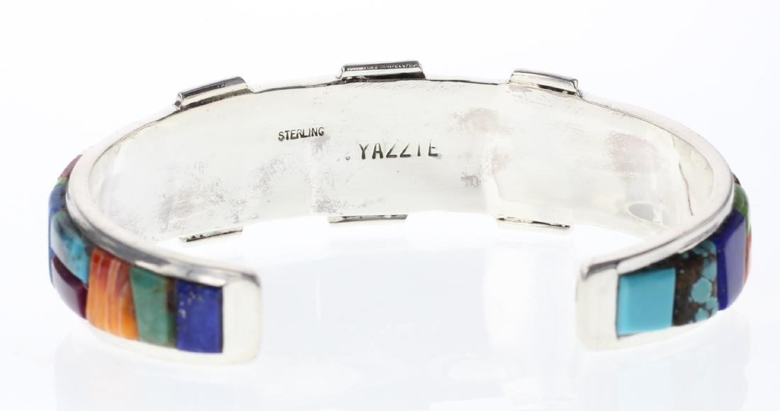 Sterling Silver Genuine Multi Stone Contemporary Cobble - 3
