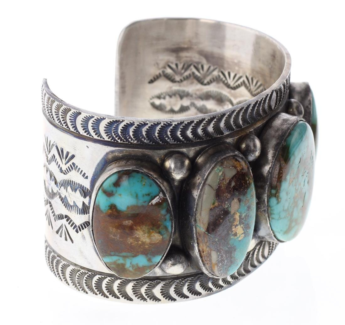 Sterling Silver Genuine Turquoise Masterpiece Large - 2