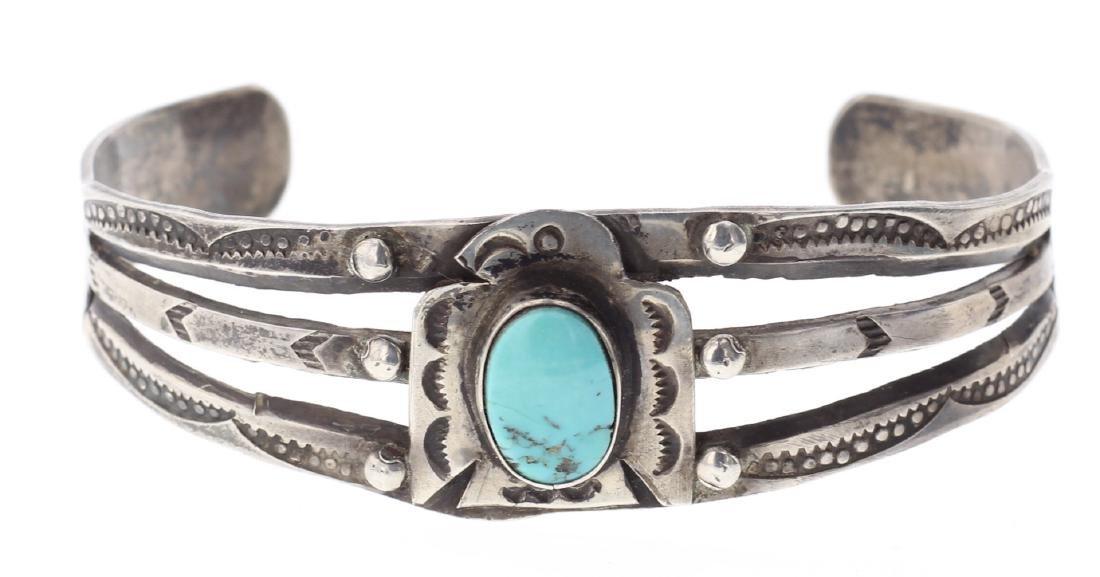 Vintage Turquoise Bracelet