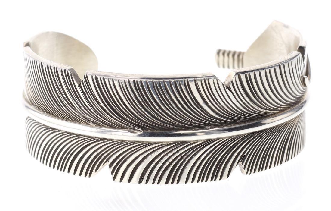 Contemporary Feather Bracelet