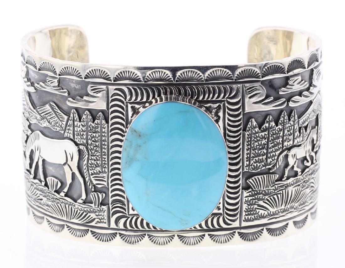 Turquoise Contemporary Masterpiece Inner Stamp Story
