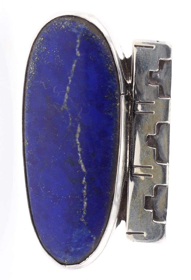 Lapis Elongated Ring