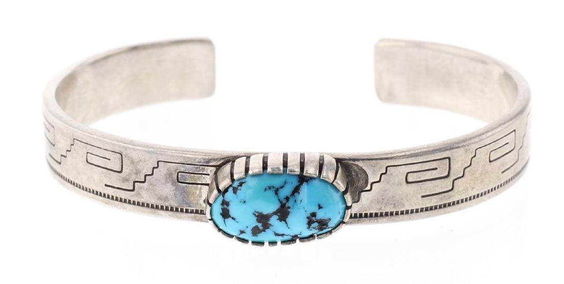 Sami Sleeping Beauty Nugget Turquoise Bracelet