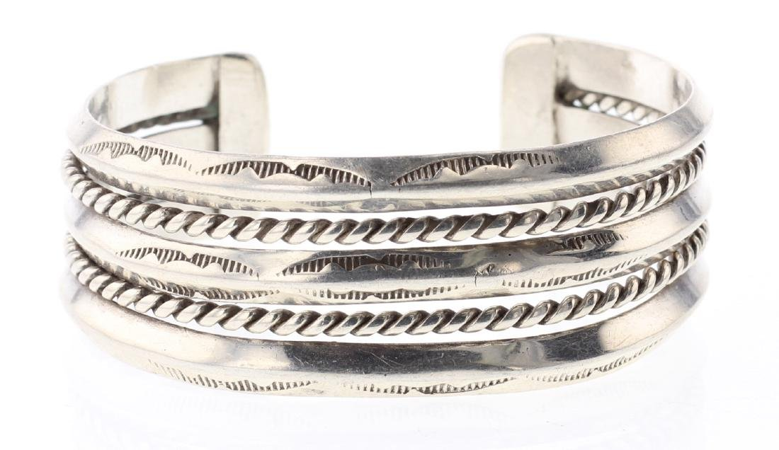 2 Row Twist Wire Bracelet