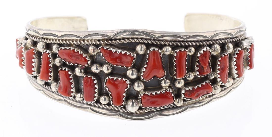 Coral Traditional Bracelet