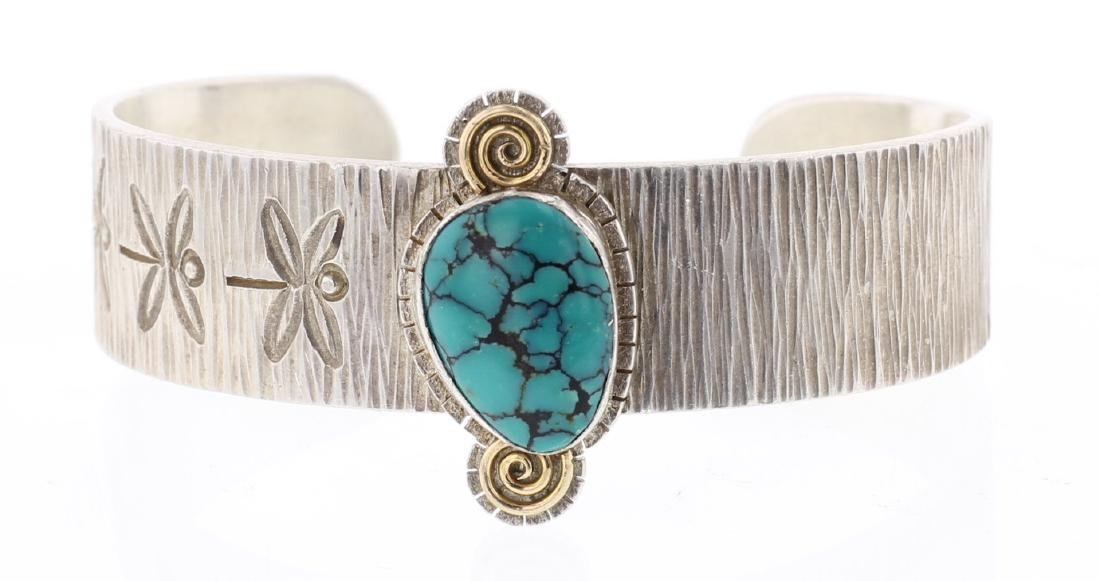 Myron Panteah Masterpiece 14K Gold Accents Bracelet