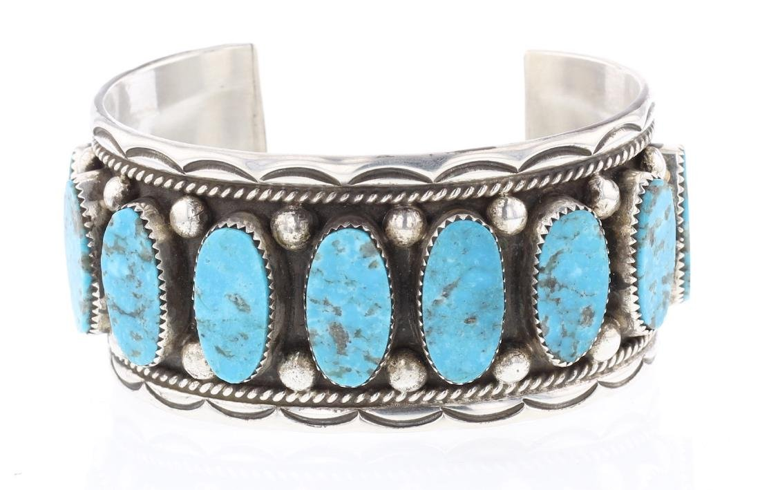 Turquoise Vintage Row Bracelet