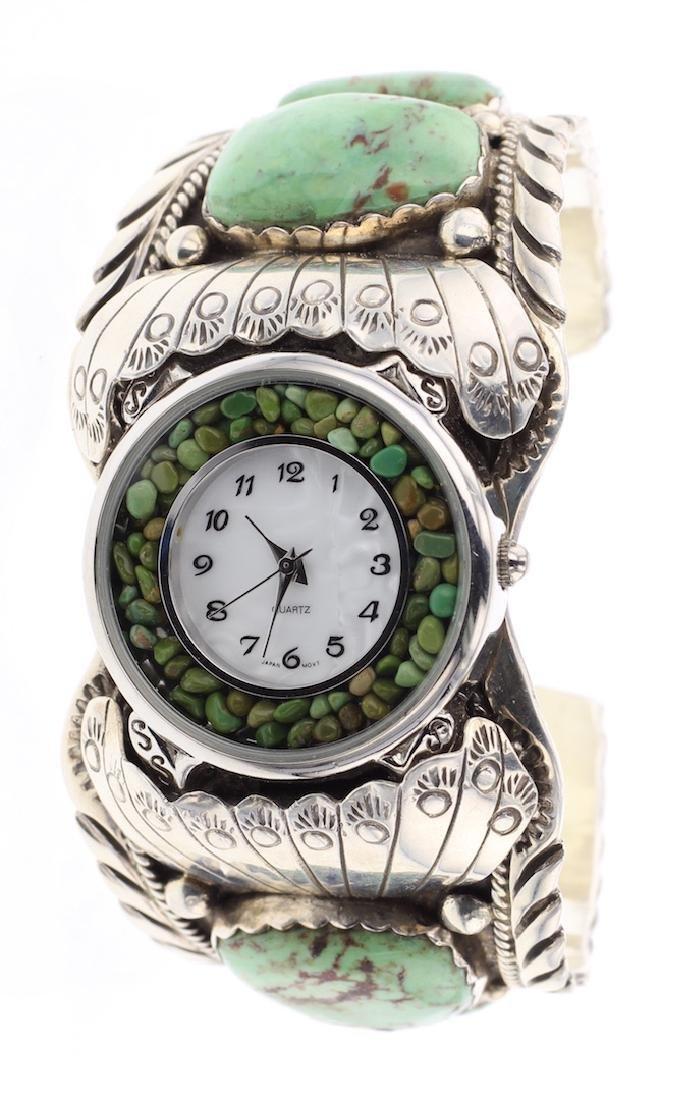 Turquoise Vintage Masterpiece Watch Bracelet