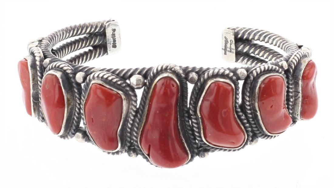 Free From Coral Vintage Masterpiece Twist Bracelet