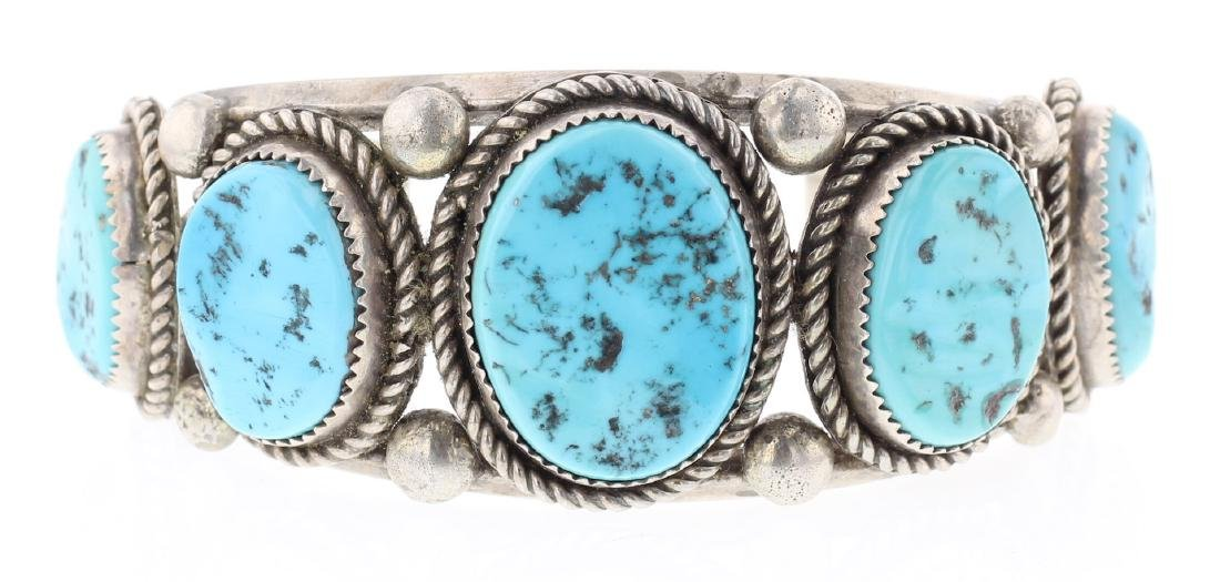 Vintage Old Pawn Sleeping Beauty Nugget Turquoise