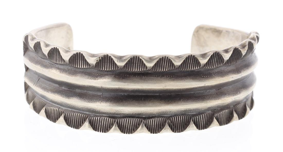 Emerson Heavy Stamp Thick Gauge Bracelet