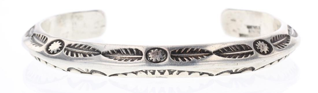 Ben Yellowhorse Vintage Masterpiece Triangle Bracelet