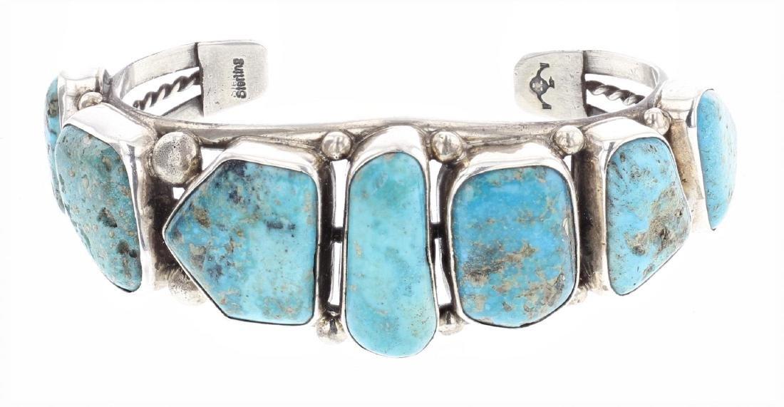 Vintage Turquoise Nugget Bracelet