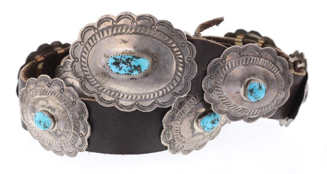 Sleeping Beauty Nugget Turquoise Vintage Old Pawn
