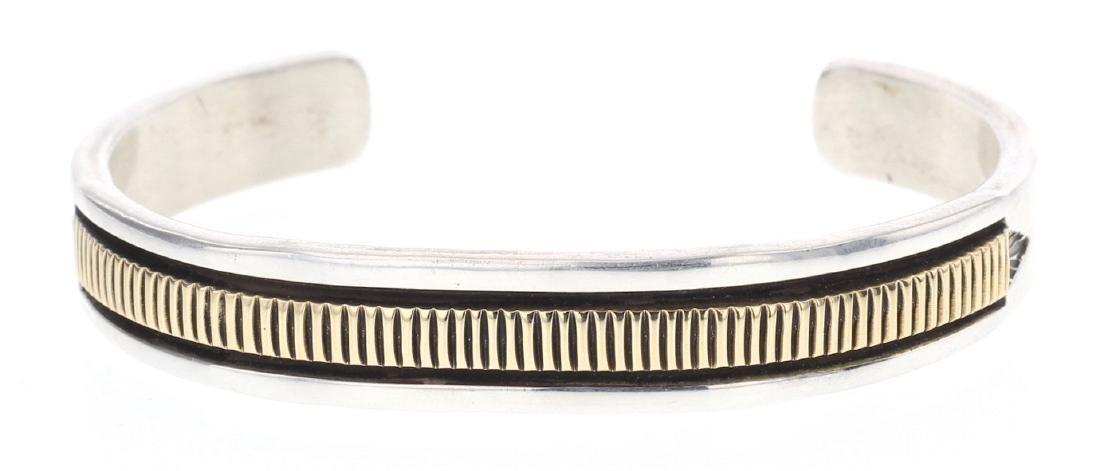 Bruce Morgan Vintage 14K Gold Overlay Bracelet