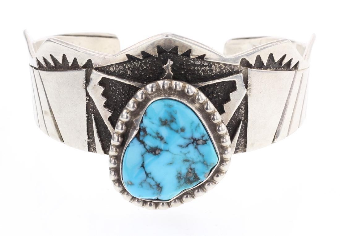 Contemporary Turquoise Bracelet