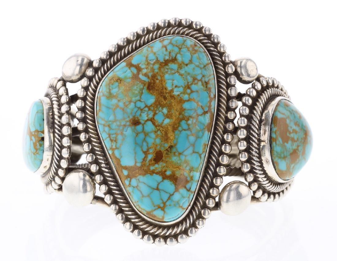 R. Martinez Contemporary Kingman Turquoise Masterpiece