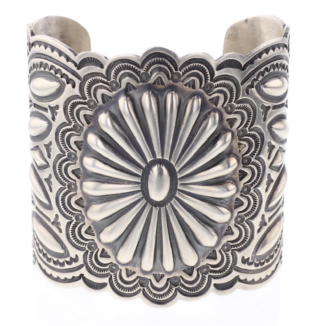 Arnold Blackgoat Masterpiece Heavy Stamp Bracelet