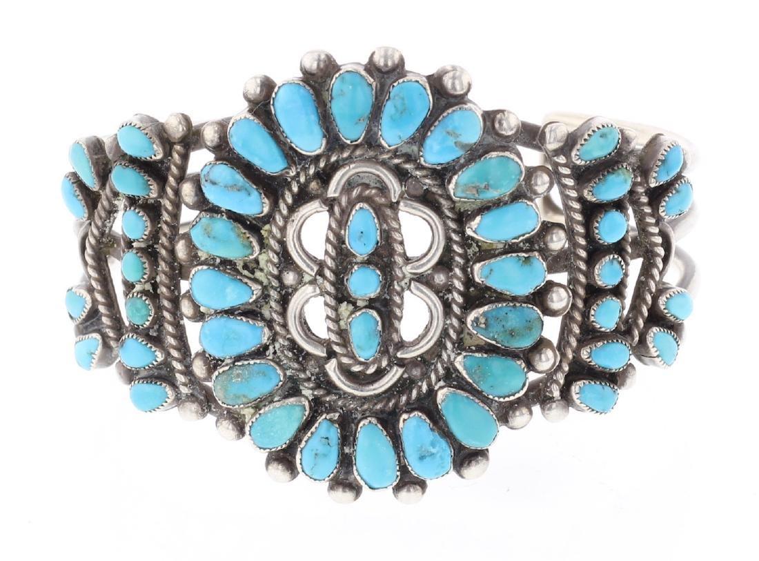 Old Pawn Masterpiece Cluster Bracelet