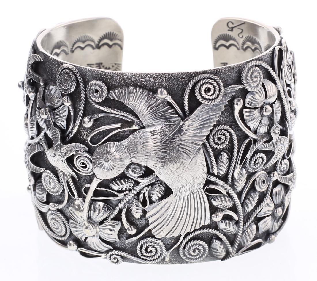 Larry Martinez Chavez Masterpiece Humming Bird Bracelet