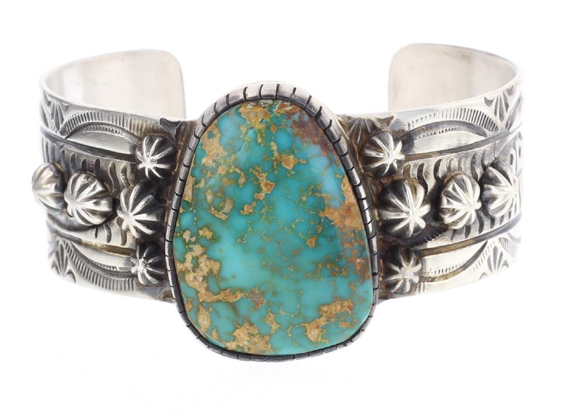 Darrin Livingston Kingman Turquoise Bracelet